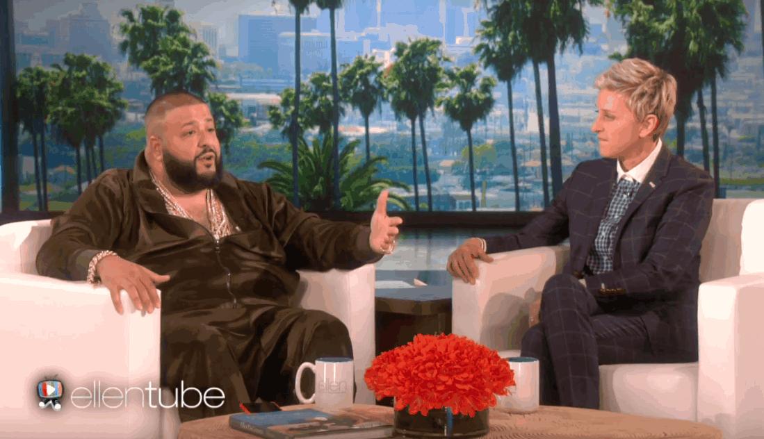 DJ Khaled, Ellen DeGeneres